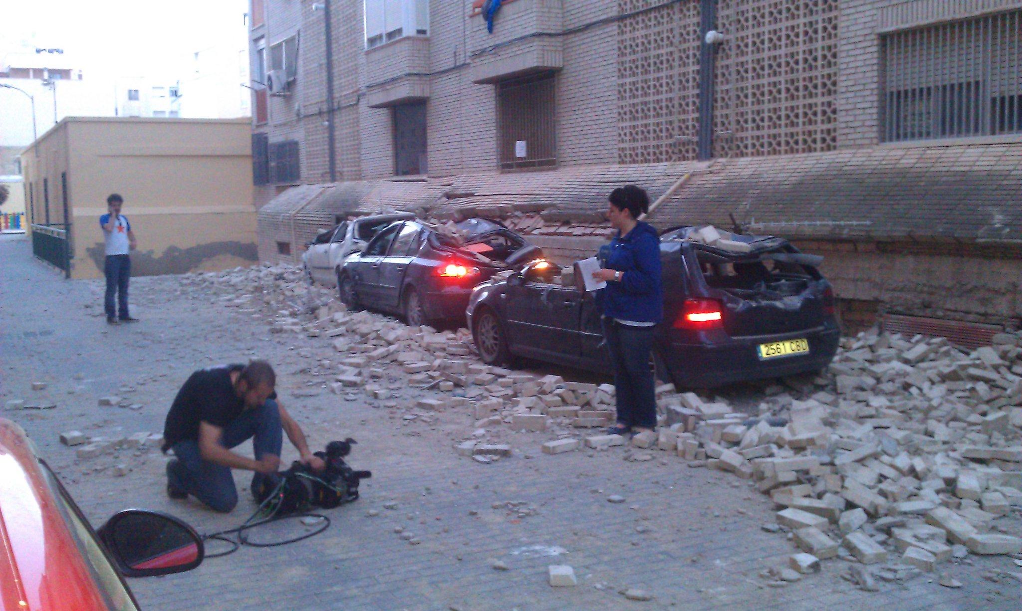 Terremoto Lorca 2011. TVE Murcia